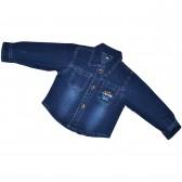 """Рубашка джинсовая детская """"Huohongma"""""""