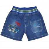 """Шорты джинсовые для мальчика """"Huohongma"""" -2"""