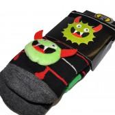 """Носки подростковые с игрушкой """"Furry Monster"""""""