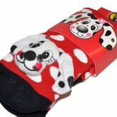 """Носки подростковые с игрушкой """"Dalmatians"""""""