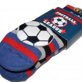 """Носки подростковые с игрушкой """"Football Laague"""""""