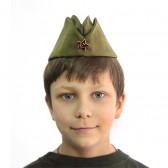 Пилотка детская армейская (солдатская)