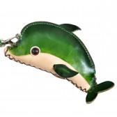 "Кошелек кожаный ""Дельфин"""