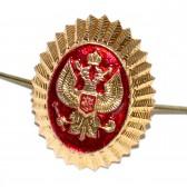 Кокарда Герб России, золотистая