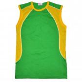Футболка-безрукавка (зеленый)