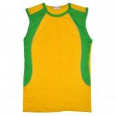 Футболка-безрукавка (желтый)