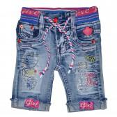 """Бриджи джинсовые для девочки """"Kissy"""""""