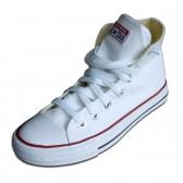 """Кеды """"Converse"""" высокие (white)"""