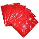 Упаковка футболок, 5 шт, 5 размеров (Красный)