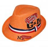 """Шляпа детская """"Jelly Lovey"""" (оранжевый)"""