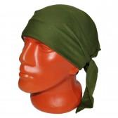 Бандана-косынка зеленая (без изображения)