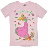 """Футболка детская """"Принцесса"""" для девочки (светло-розовый)"""