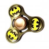"""Спиннер для рук металлический """"Batman"""" (yellow)"""