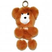 """Меховой брелок """"Медвежонок"""" на сумку -10"""