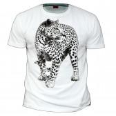 "Футболка ""Белый леопард"""
