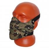 Маска на лицо кожаная -15