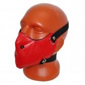 Маска на лицо кожаная -16