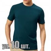 Футболки Lyon (Индия), цвет темный джинсовый, упаковка 10 шт.