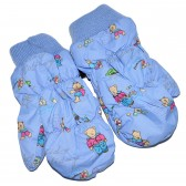 "Варежки детские ""Teddy bear"" (blue)"