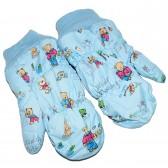 """Варежки детские """"Teddy bear"""" (l-blue)"""
