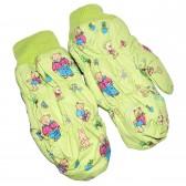 """Варежки детские """"Teddy bear"""" (green)"""