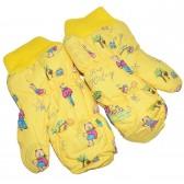 """Варежки детские """"Teddy bear"""" (yellow)"""