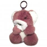 """Меховой брелок """"Мишка"""" на сумку -29"""