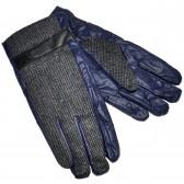 Перчатки мужские, комбинированные (d-blue)