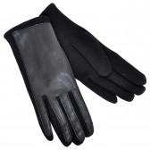 Перчатки женские, комбинированные -03