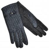 Перчатки женские, комбинированные -05