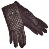 Перчатки женские, комбинированные -06
