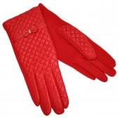 Перчатки женские, комбинированные -08
