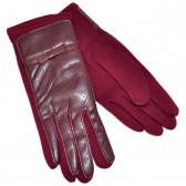 Перчатки женские, комбинированные -17