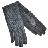 Перчатки женские, комбинированные -26