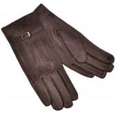 Женские перчатки для сенсорных экранов (brown)