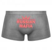 """Трусы мужские с надписью """"Russian Mafia"""""""