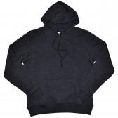 Толстовка Кенгуру с капюшоном и карманами, черный крапчатый (Fazo-R)