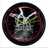 """Рок-часы """"Metallica"""" (молния)"""