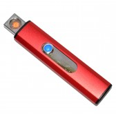 """USB-прикуриватель """"Флешка"""" (красный)"""