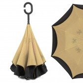 "Зонт наоборот ""Pasio"", бежевый"