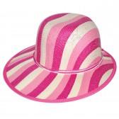 """Шляпа женская, плетеная """"Яркие полосы"""" -10"""
