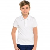 """Рубашка-Поло подростковая """"Doston"""" (белый)"""