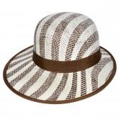 """Шляпа женская, плетеная """"Яркие полосы"""" -26"""