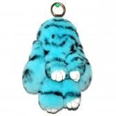 """Меховой брелок """"Зайчик"""" (кролик) 18 см на сумку -88"""