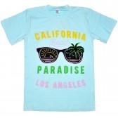 "Футболка детская ""California beach paradise"" для девочки"