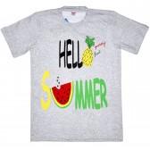 """Футболка детская """"Hello summer, yummy fruit"""" для девочки"""