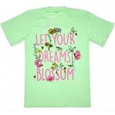 "Футболка детская ""Let your dreams blossom"" для девочки"
