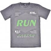 "Футболка детская ""Run faster brooklyn"" для мальчика"