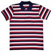 "Рубашка-поло с карманом ""Полоса"" (Fazo-R) -01"