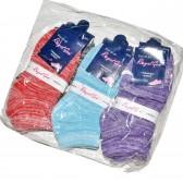 """Носки подростковые, для девочек, """"Royal Gem"""" упаковка 12 пар (меланж)"""